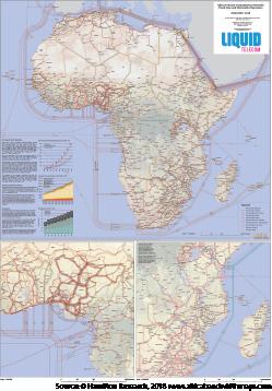 Africa Bandwidth Maps