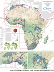 Africa Telecom Transmission Map - Hamilton Research
